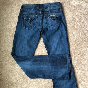 HUDSON Signature Bootcut Jeans, Size 27